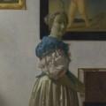 フェルメール-ヴァージナルの前に立つ若い女