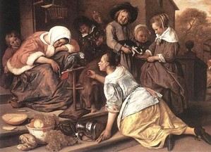 Jan Steen (c) National Gallery, London