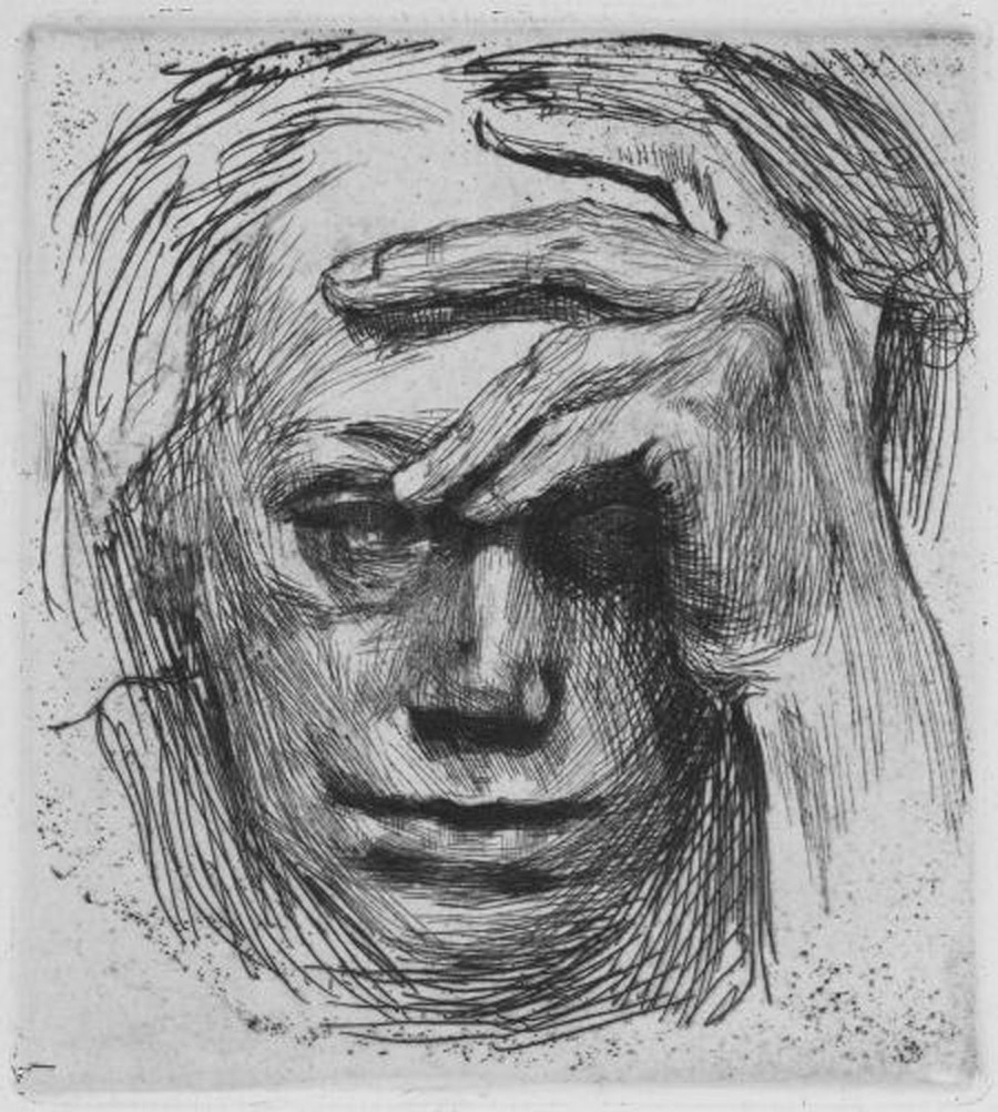 kollwitz-self-portrait-
