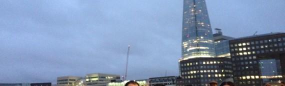 ハリーポッターと一緒に、ロンドンの街を回る