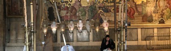 この岩の上でキリストは処刑された:聖地エルサレム2